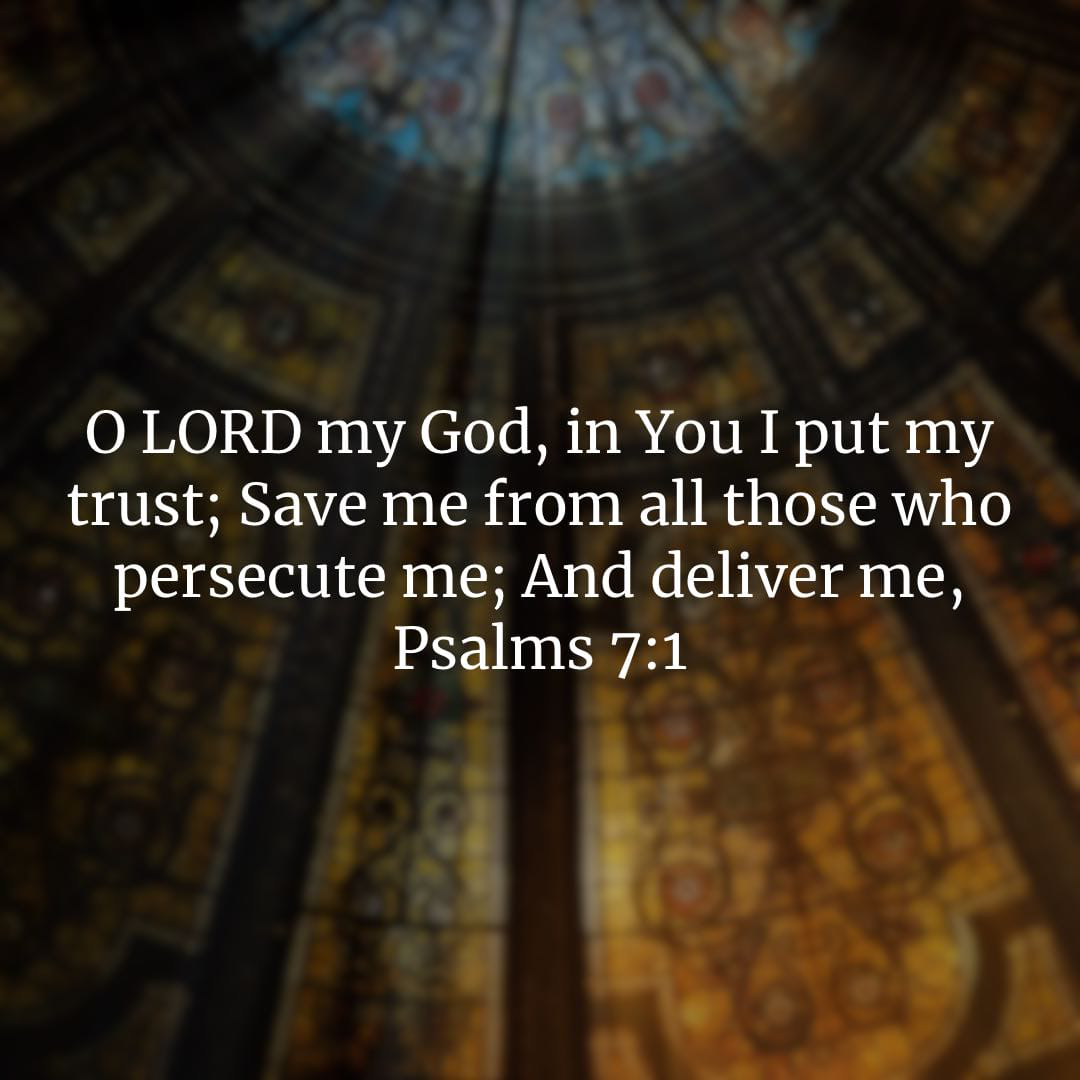 Psalm image of Psalm 7:1